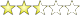 2.4 star rating