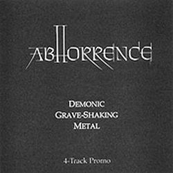 Review for Abhorrence - Demonic Graveshaking Metal