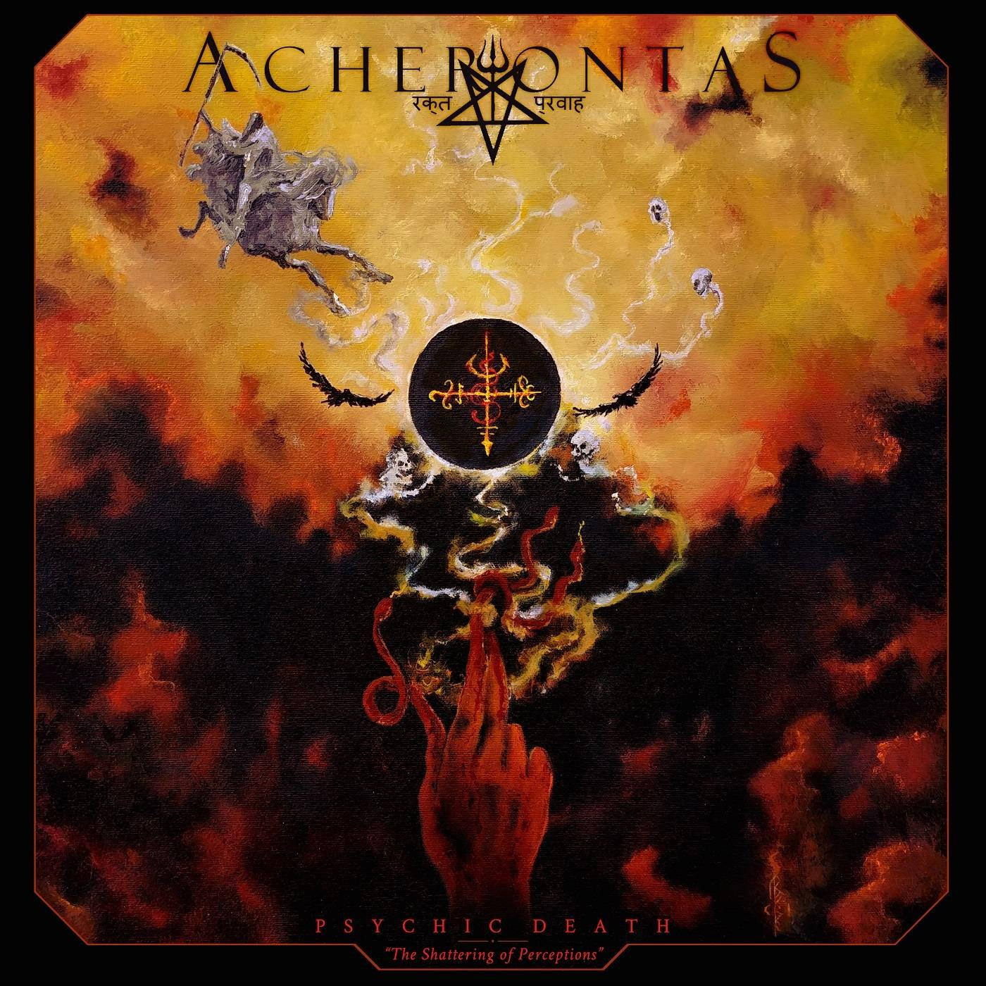 Reviews for Acherontas - Psychic Death - The Shattering of Perceptions