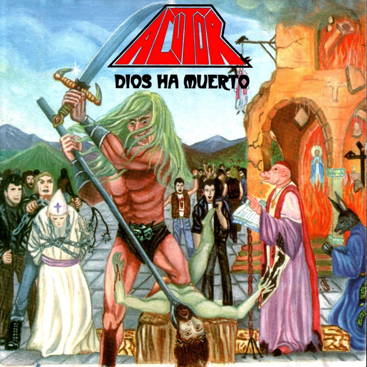 Review for Acutor - Dios Ha Muerto