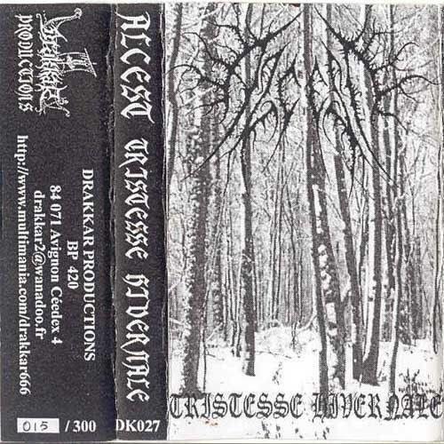 Reviews for Alcest - Tristesse Hivernale