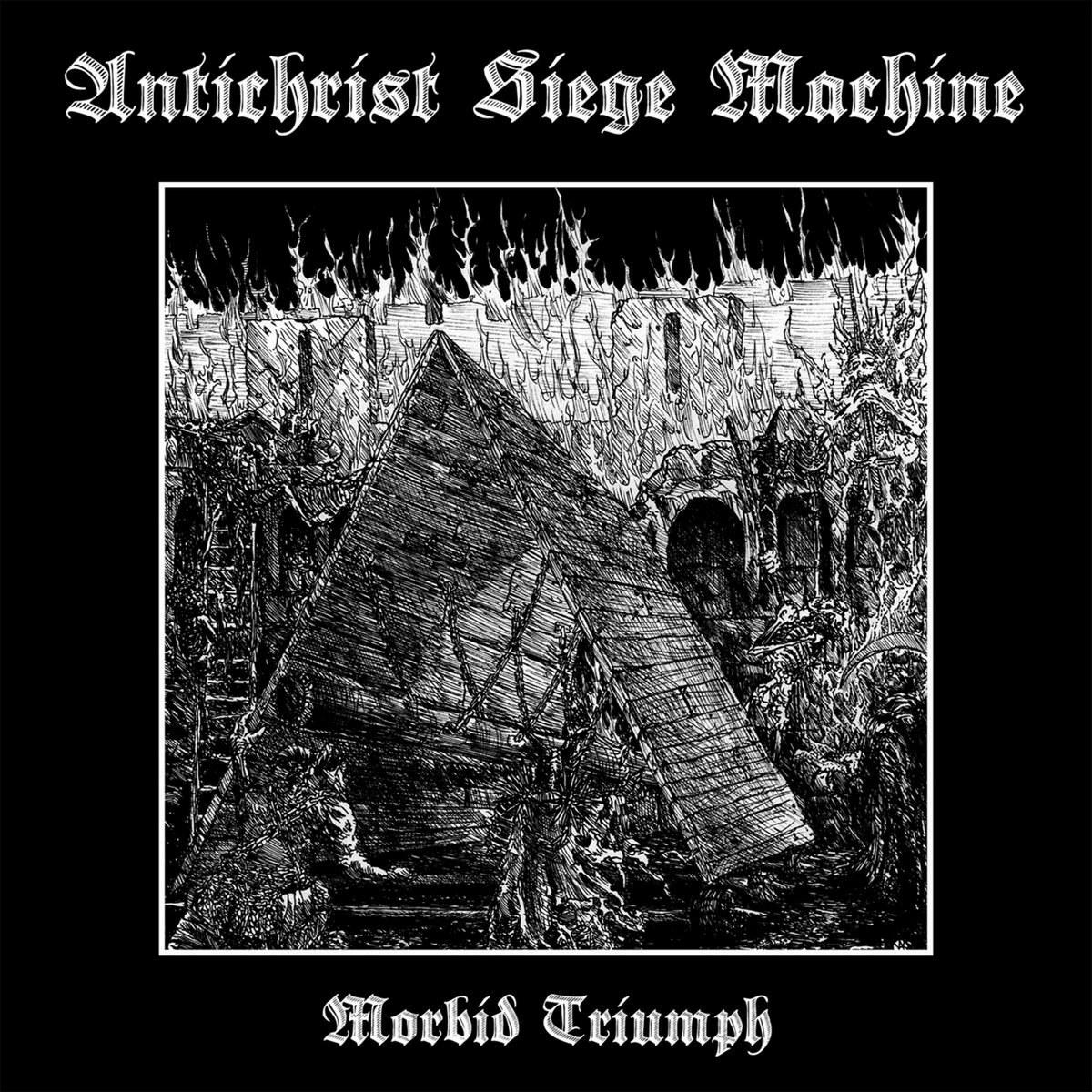 Review for Antichrist Siege Machine - Morbid Triumph