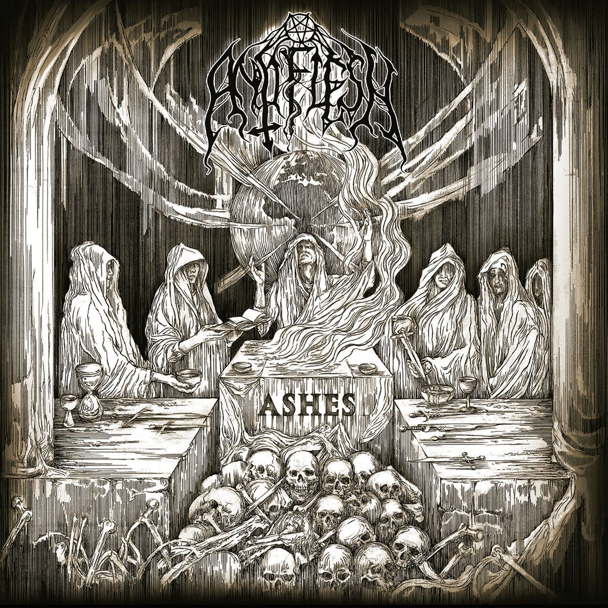 Review for Antiflesh - Ashes