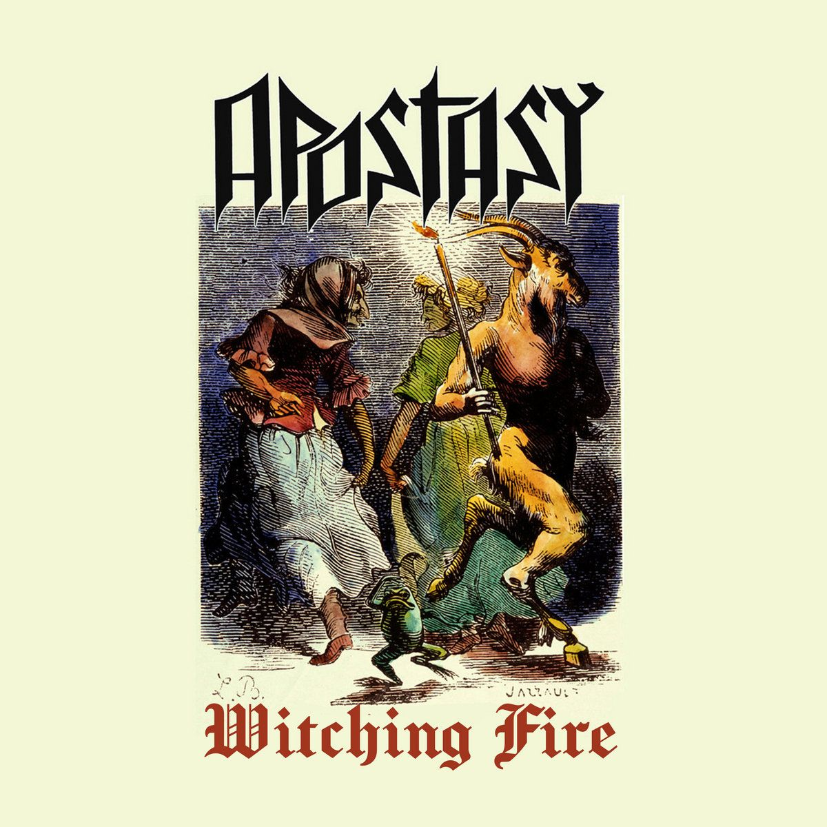 Review for Apostasy (CHL) - Witching Fire