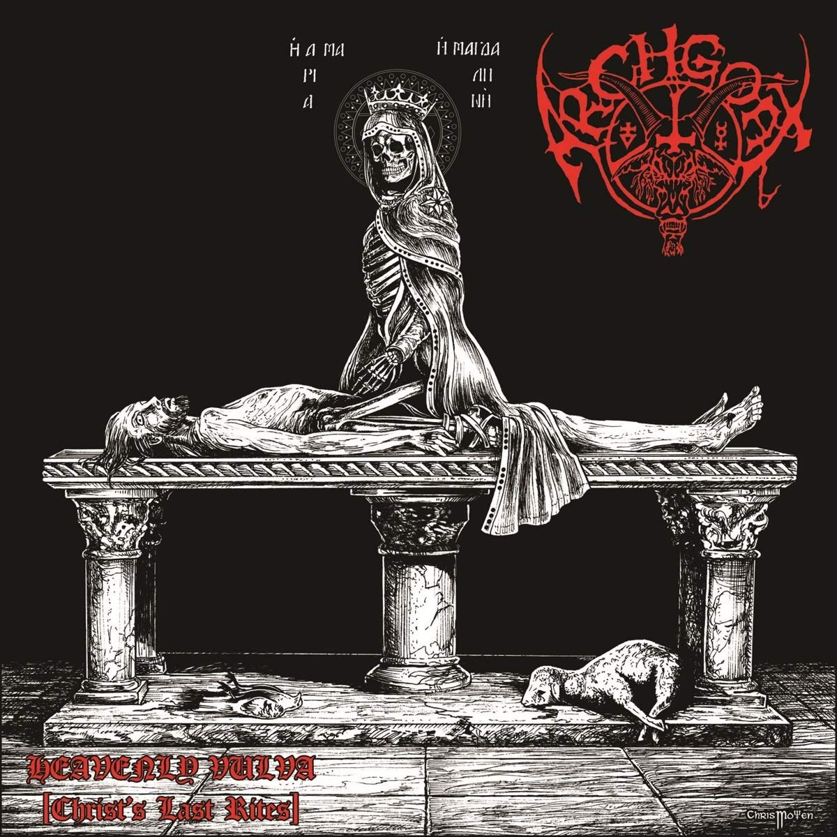 Review for Archgoat - Heavenly Vulva (Christ's Last Rites)