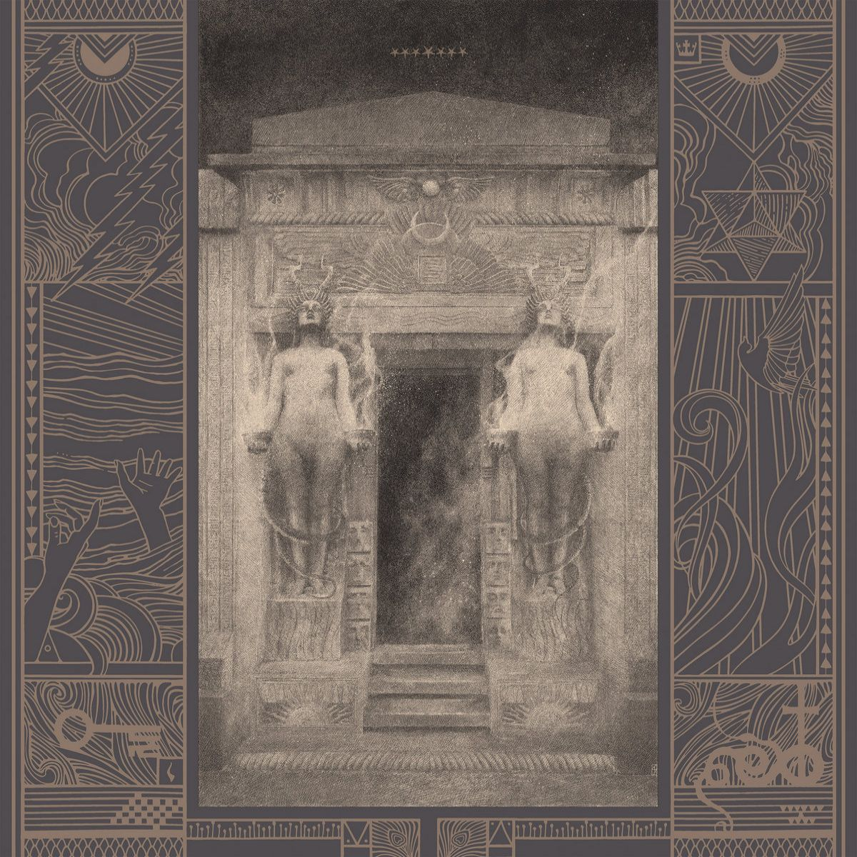 Review for Ash Borer - The Irrepassable Gate