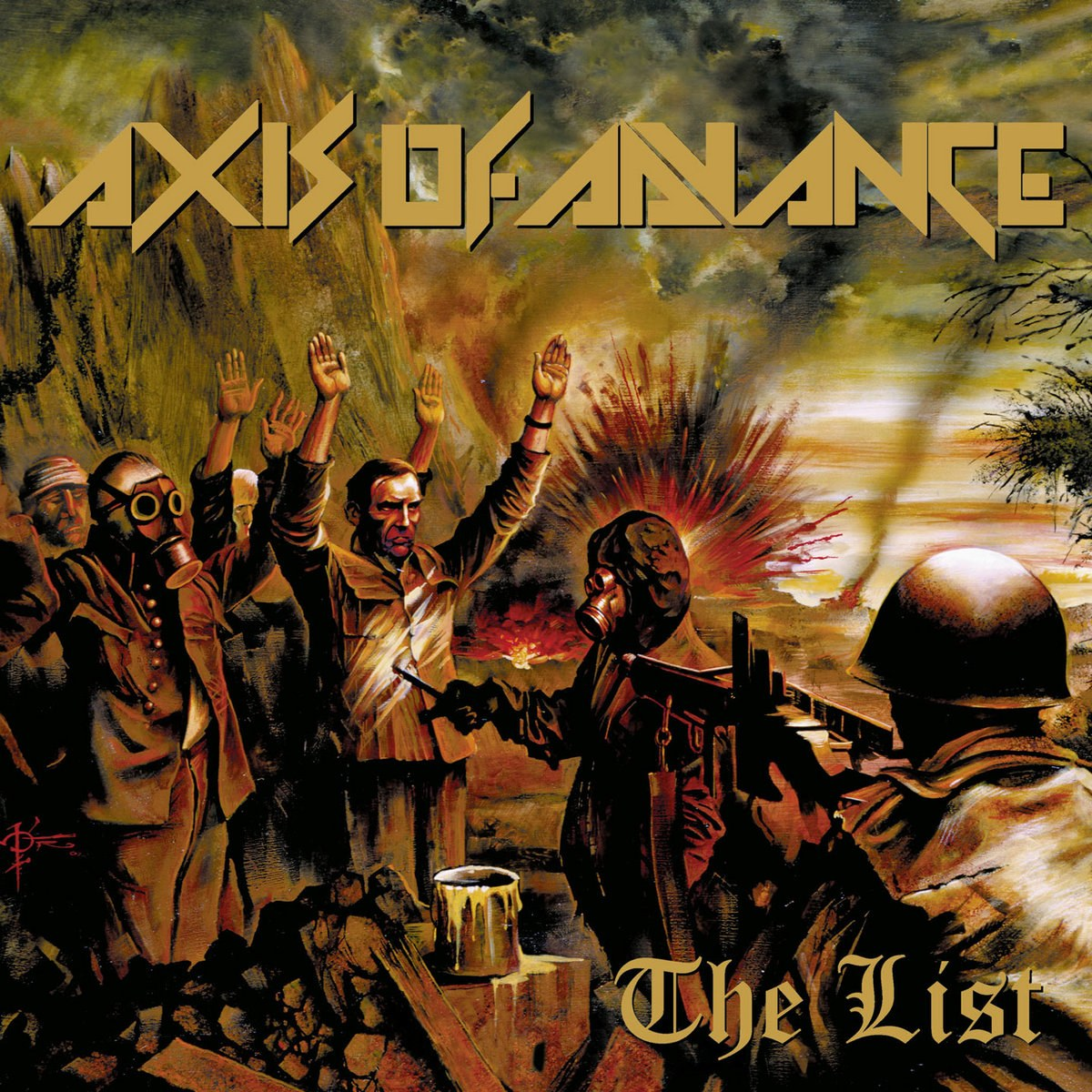Review for Axis of Advance - The List