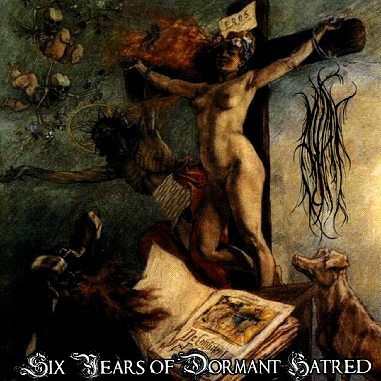 Best Lebanese Black Metal album: 'Ayat - Six Years of Dormant Hatred'
