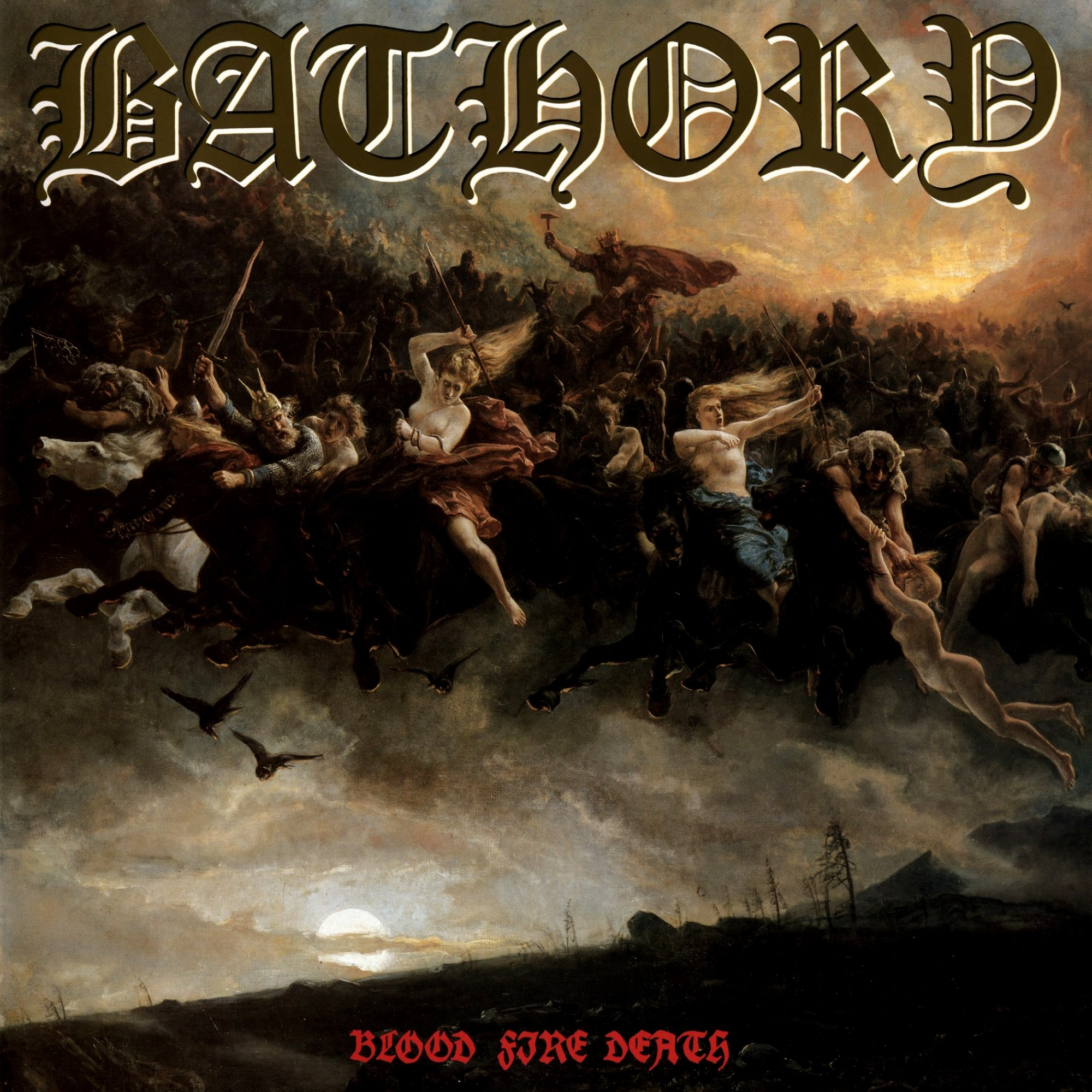 Review for Bathory - Blood Fire Death