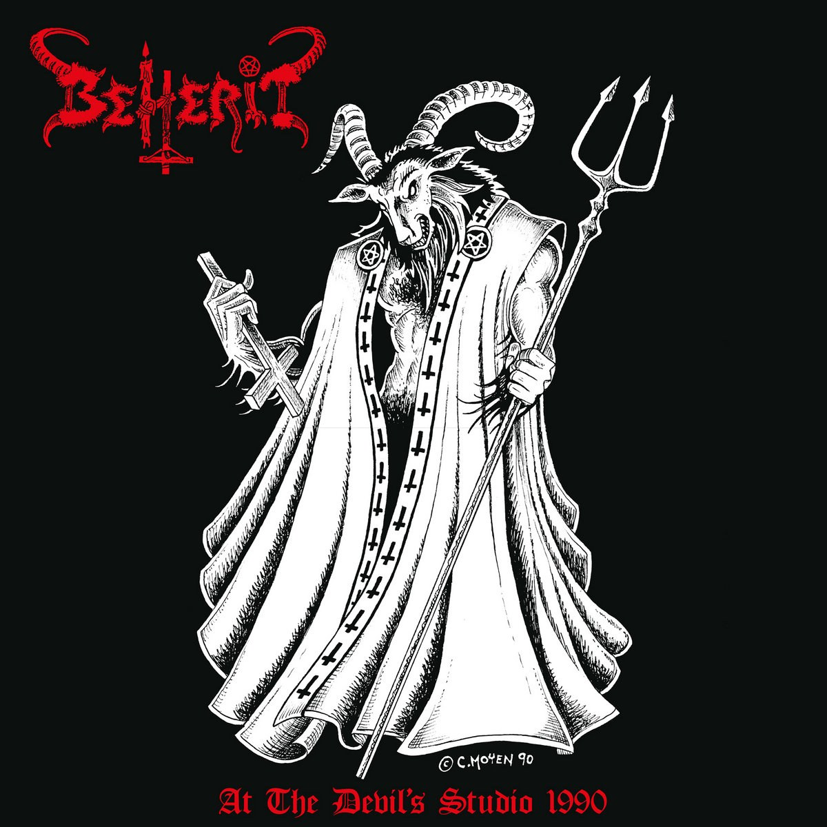 Review for Beherit - At the Devil's Studio 1990