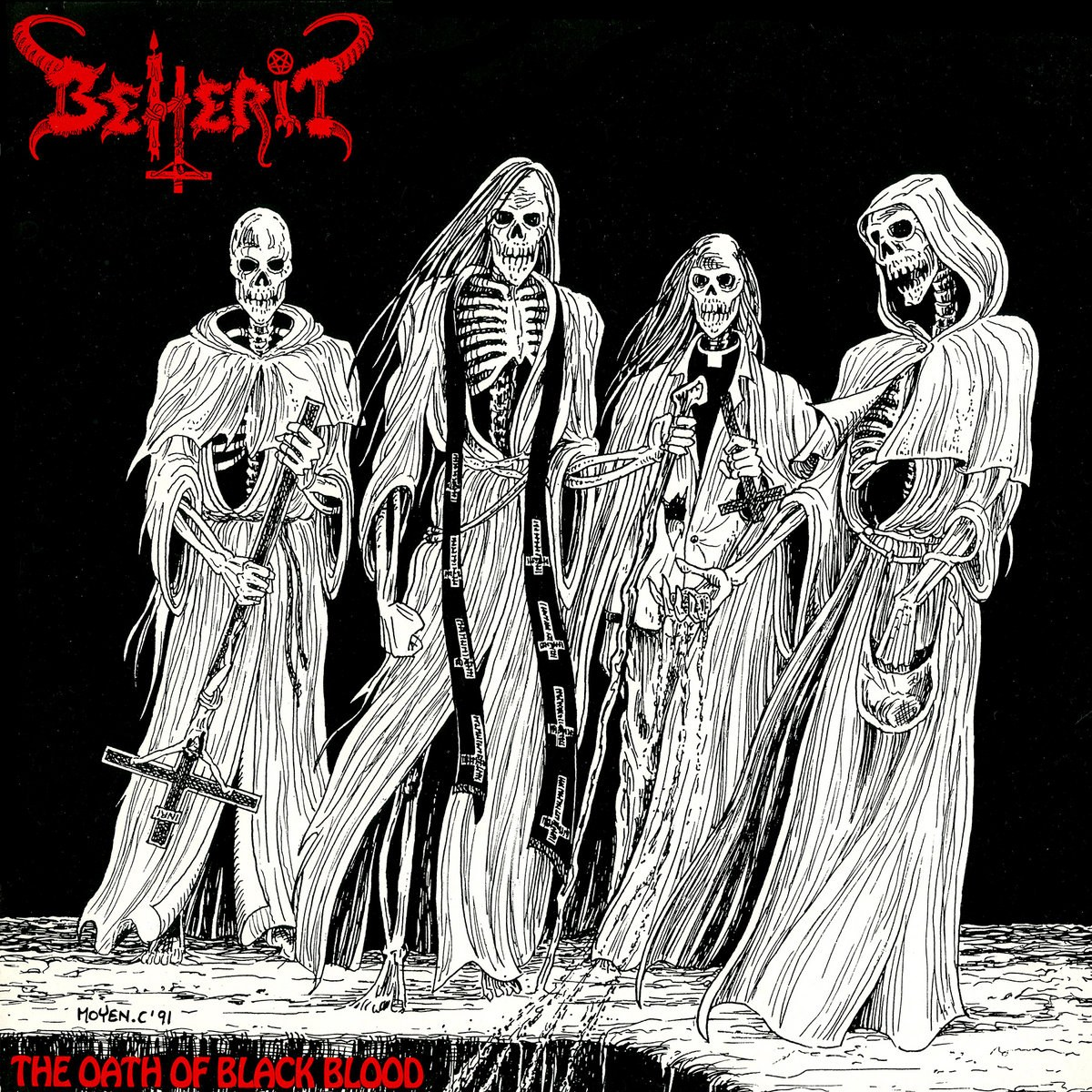 Review for Beherit - The Oath of Black Blood