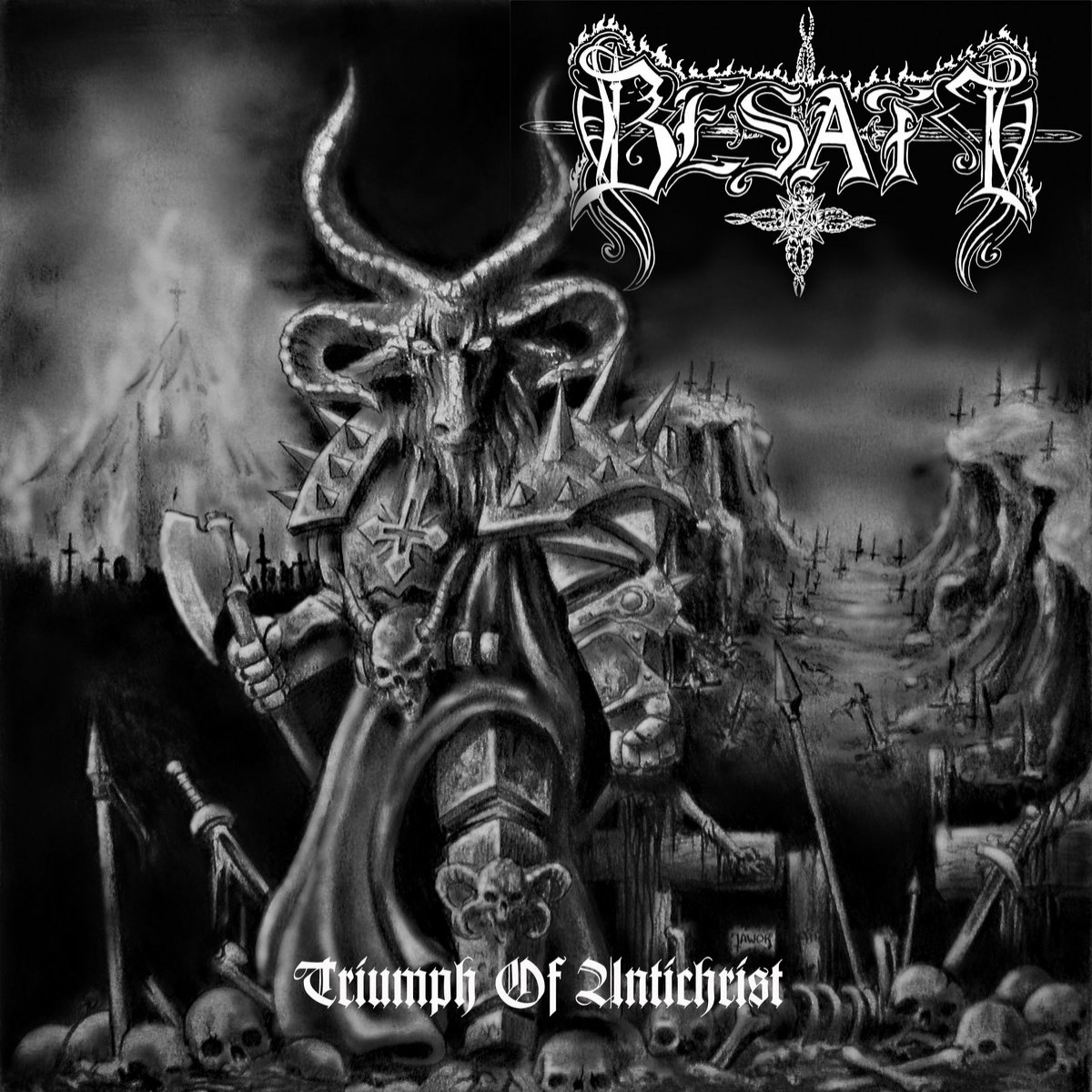 Review for Besatt - Triumph of Antichrist