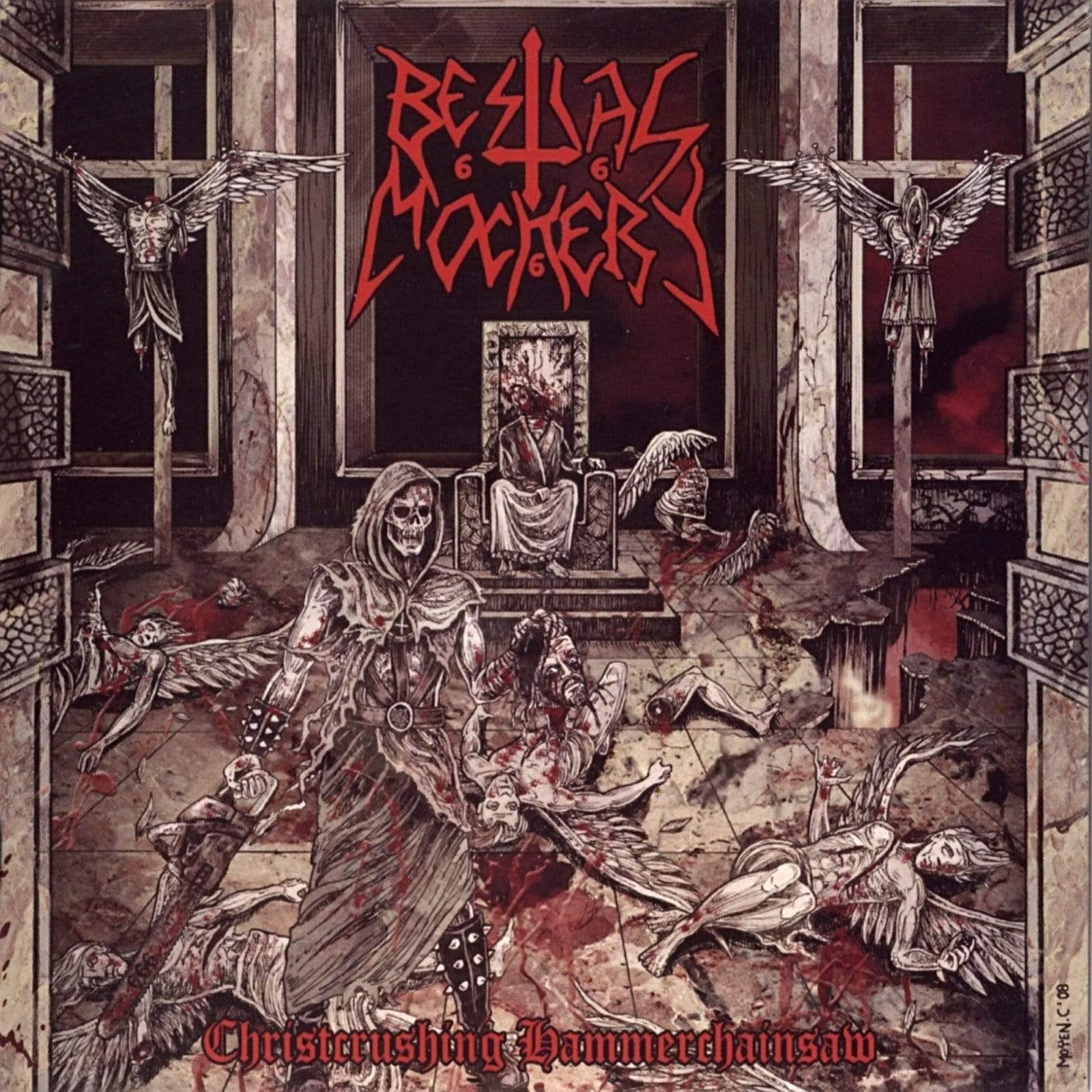 Review for Bestial Mockery - Christcrushing Hammerchainsaw