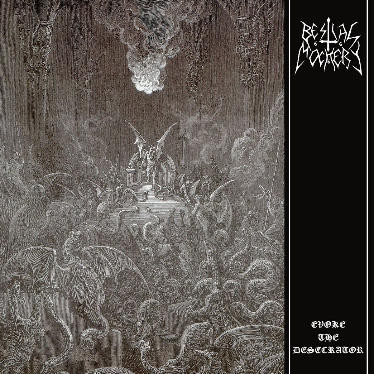 Review for Bestial Mockery - Evoke the Desecrator