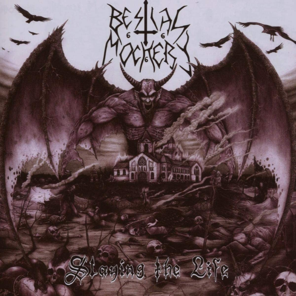 Review for Bestial Mockery - Slaying the Life