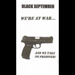 Review for Black September - We're at War... and We Take No Prisoner!