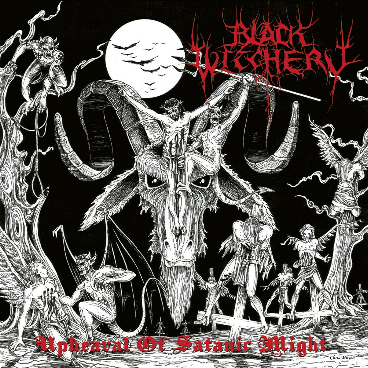 Review for Black Witchery - Upheaval of Satanic Might