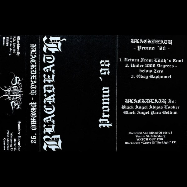 Review for Blackdeath - Promo '98