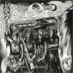 Review for Blacker - Funeral Mayhem (Black in Blood for Emperors of Death in Hell)