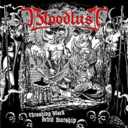Review for Bloodlust (AUS) - Thrashing Black Devil Worship