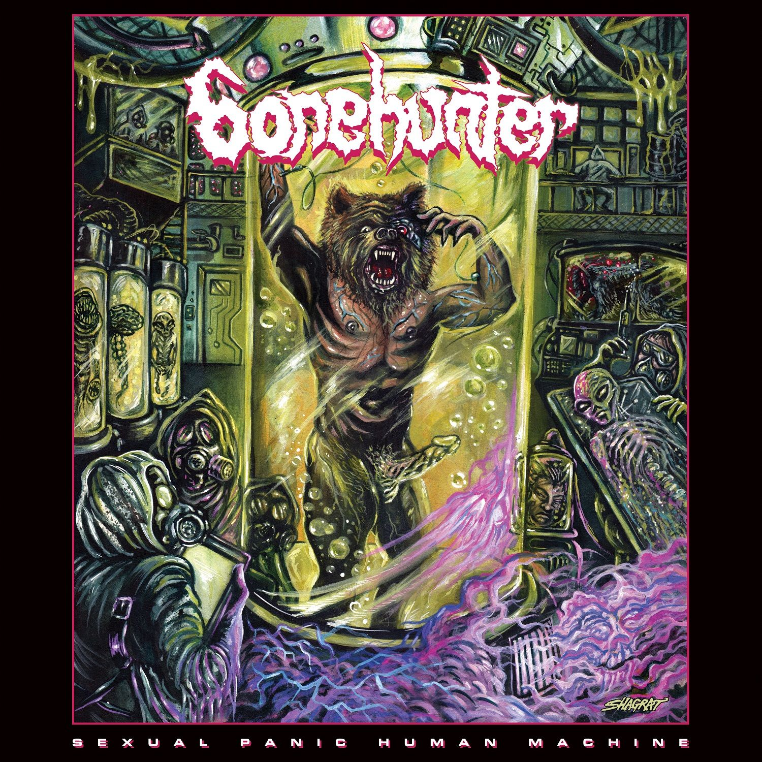 Review for Bonehunter - Sexual Panic Human Machine