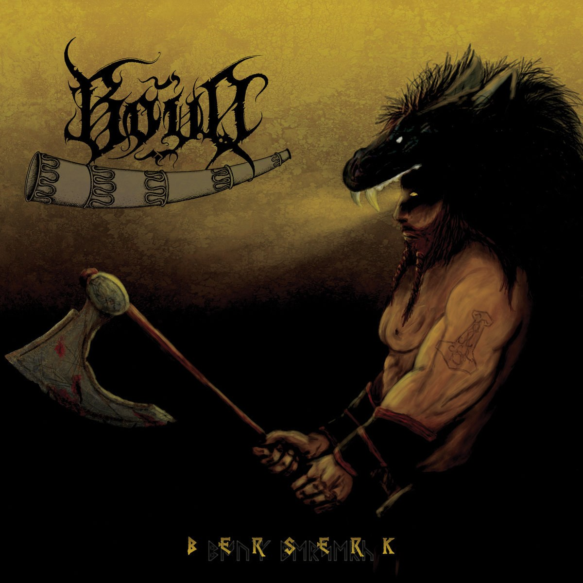 Best Jordanian Black Metal album: 'Bouq - Berserk'