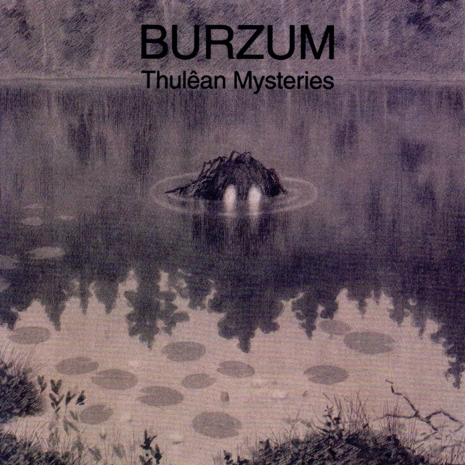 Review for Burzum - Thulêan Mysteries