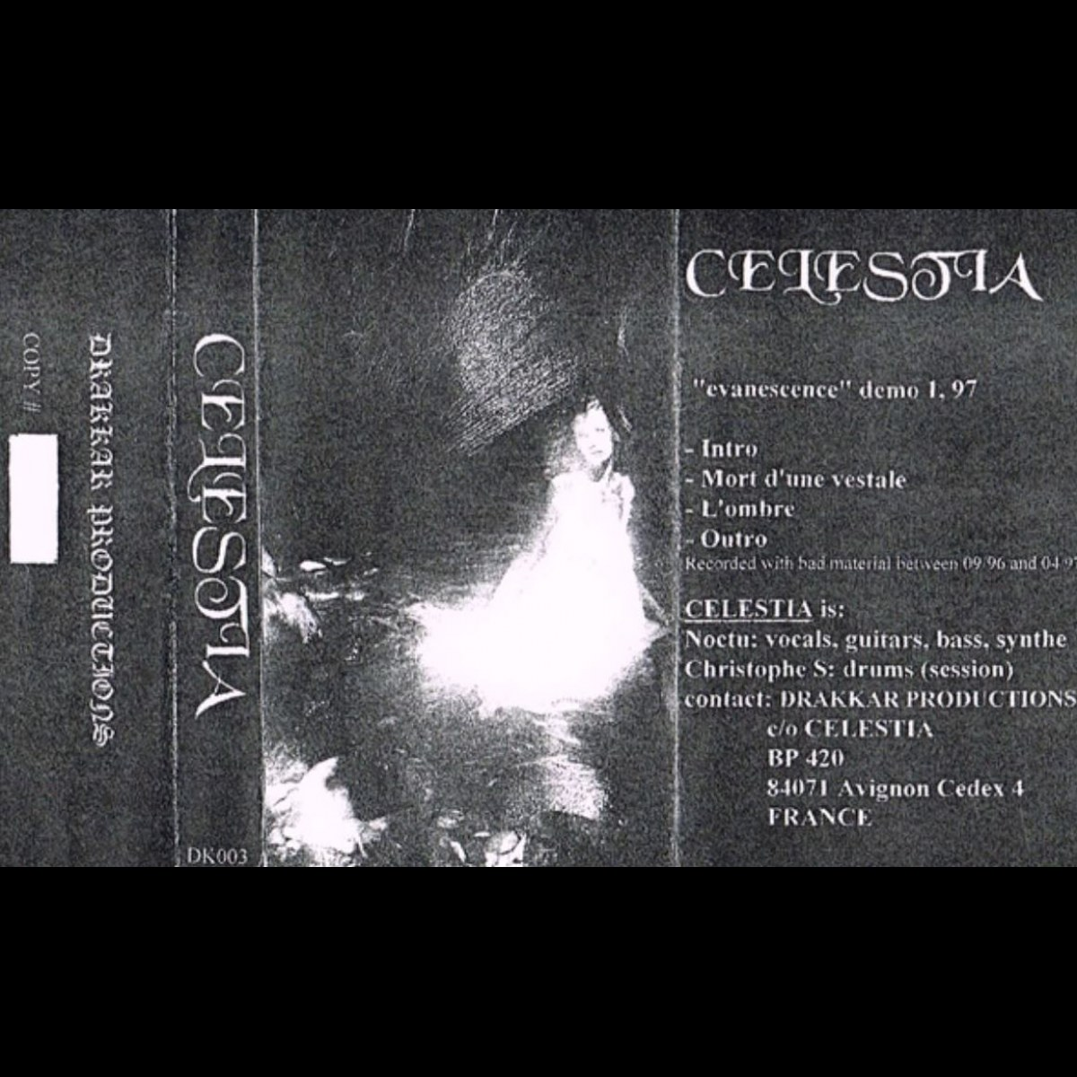 Review for Celestia - Evanescence