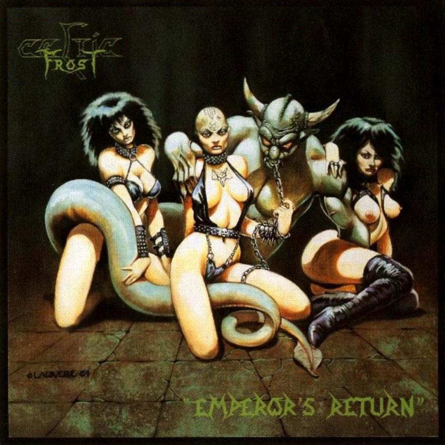 "Celtic Frost released their second EP, titled ""Emperor's Return""."