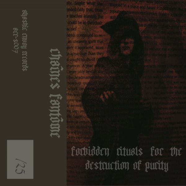 Review for Chaînes Fantôme - Forbidden Rituals for the Destruction of Purity