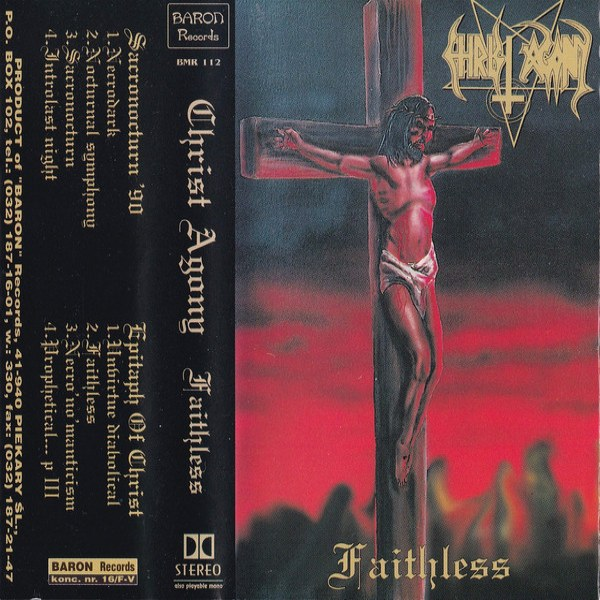 Review for Christ Agony - Faithless