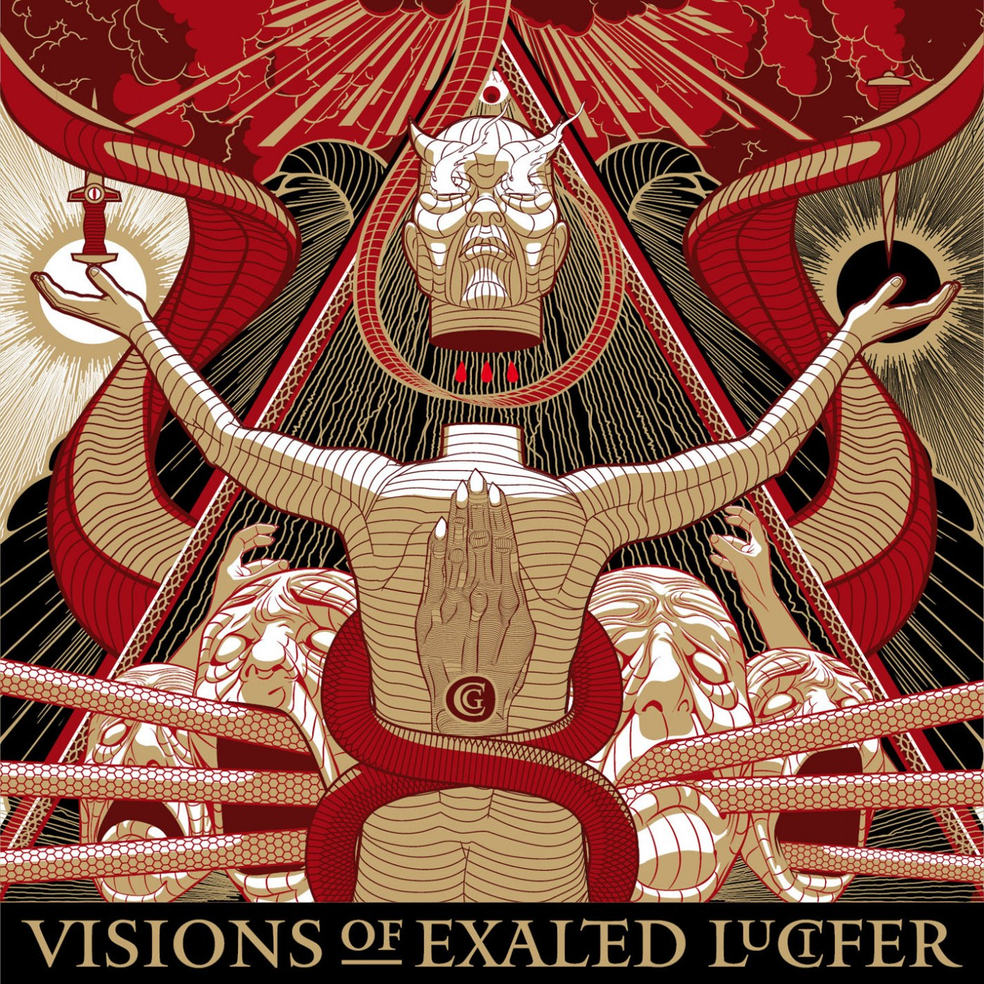 Review for Cirith Gorgor - Visions of Exalted Lucifer