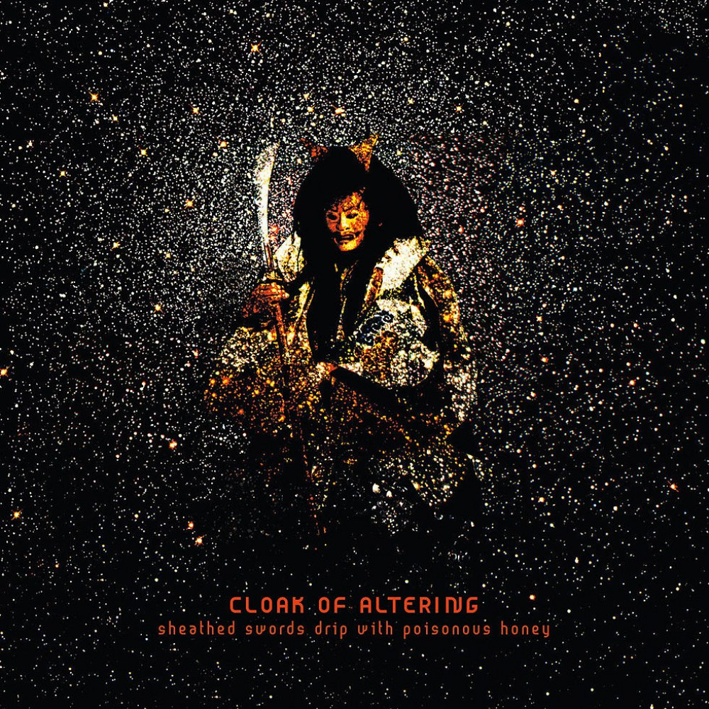 Cloak of Altering - Sheathed Swords Drip with Poisonous Honey