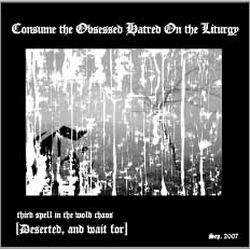 Review for Cohol - Consume the Obsessed Hatred on the Liturgy