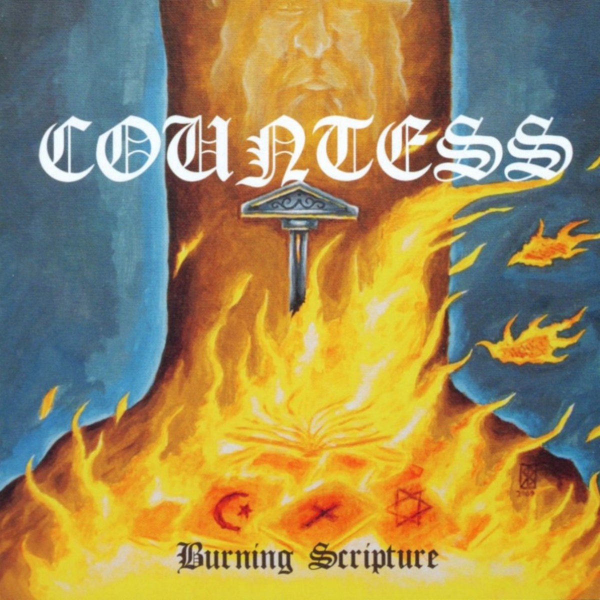 Review for Countess (NLD) - Burning Scripture