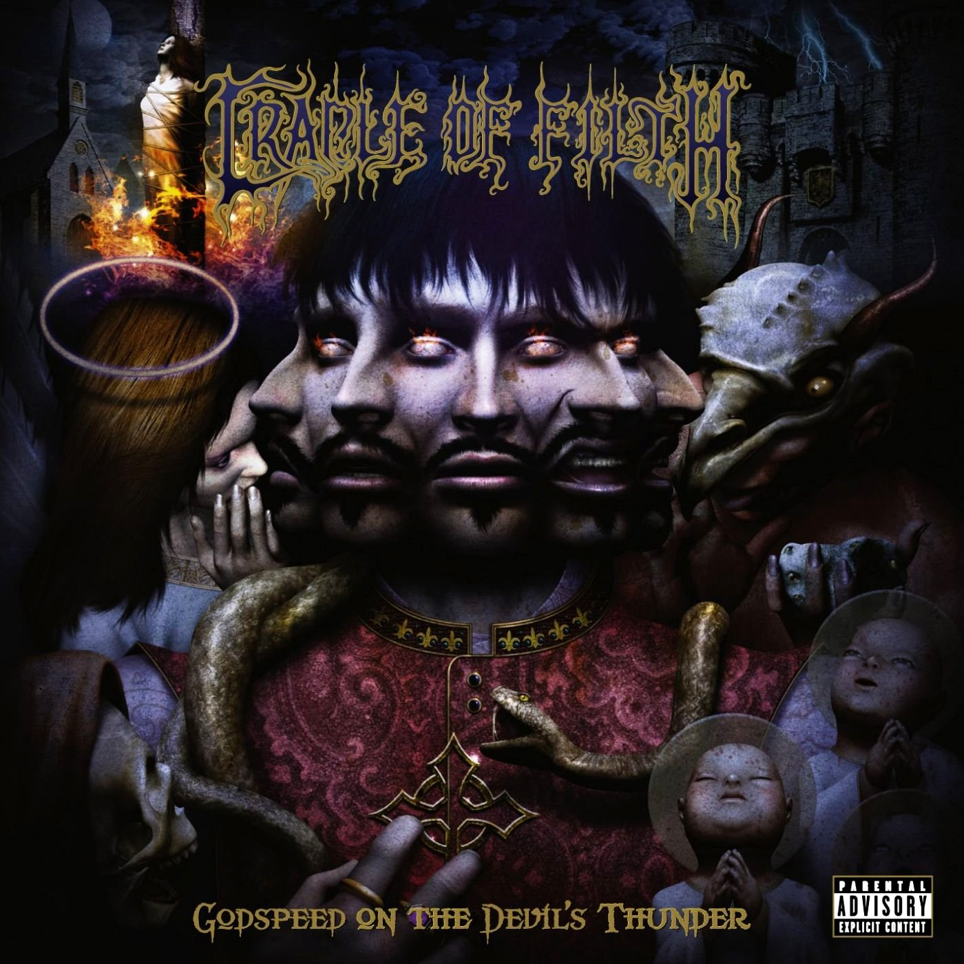 Review for Cradle of Filth - Godspeed on the Devil's Thunder
