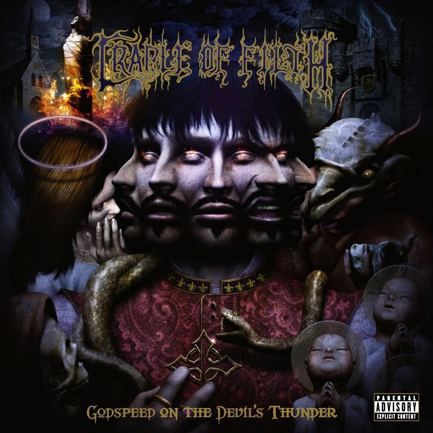 Reviews for Cradle of Filth - Godspeed on the Devil's Thunder