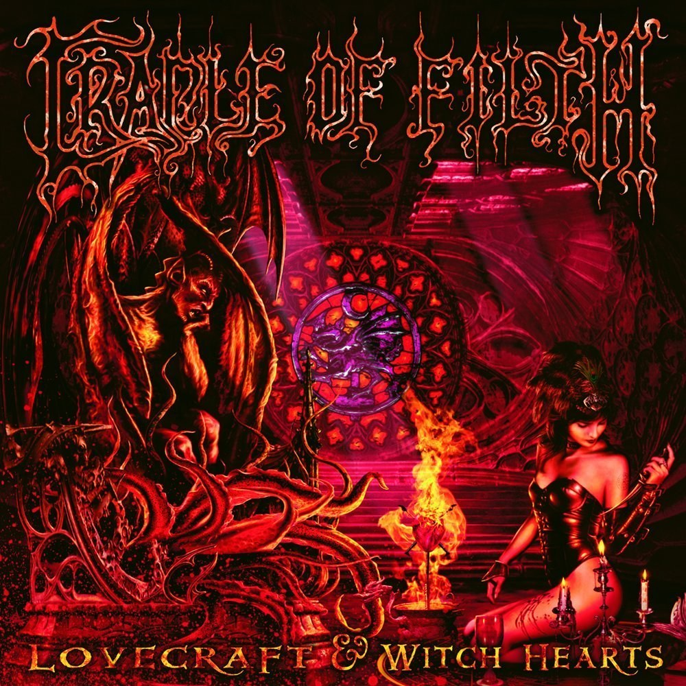 Review for Cradle of Filth - Lovecraft & Witch Hearts