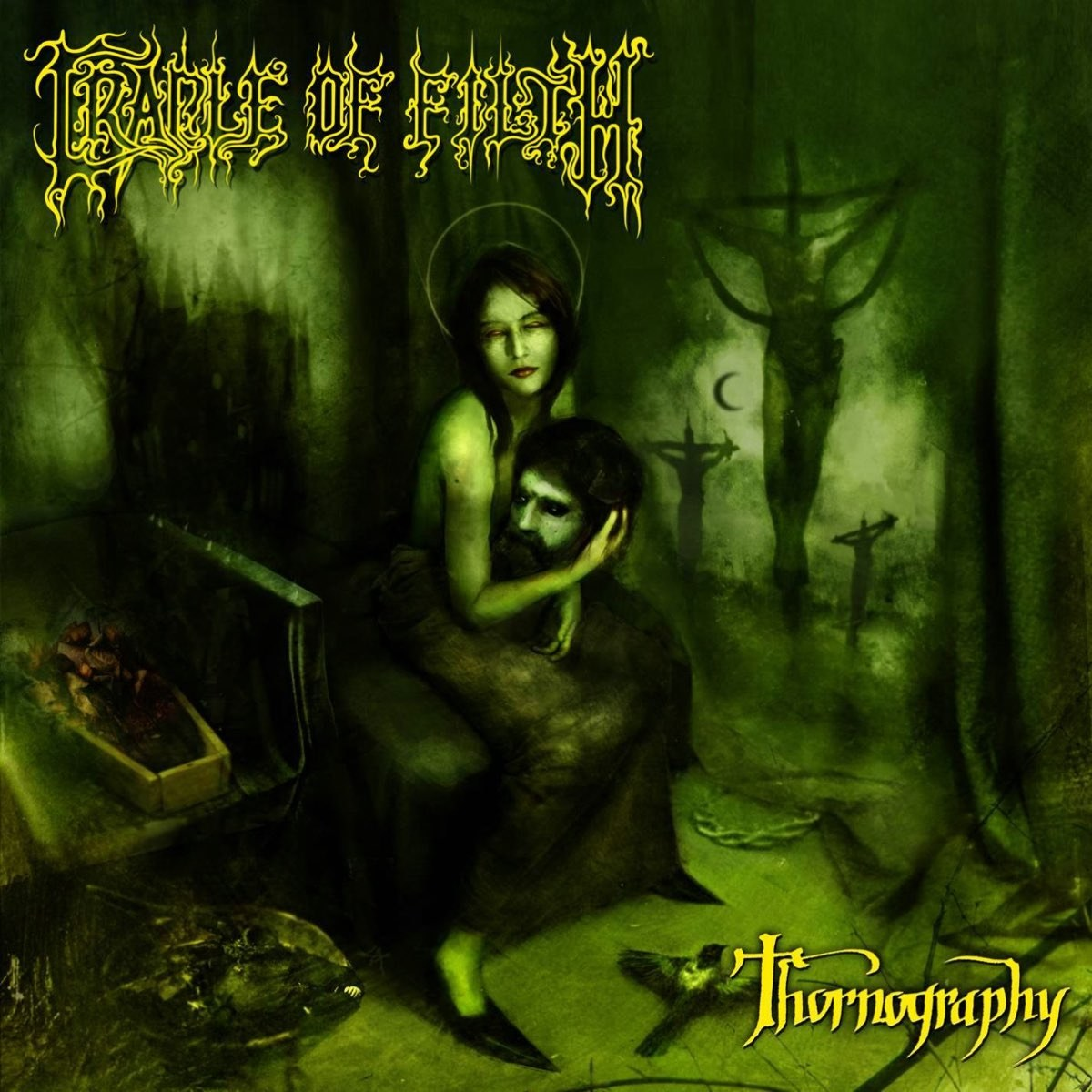 Reviews for Cradle of Filth - Thornography