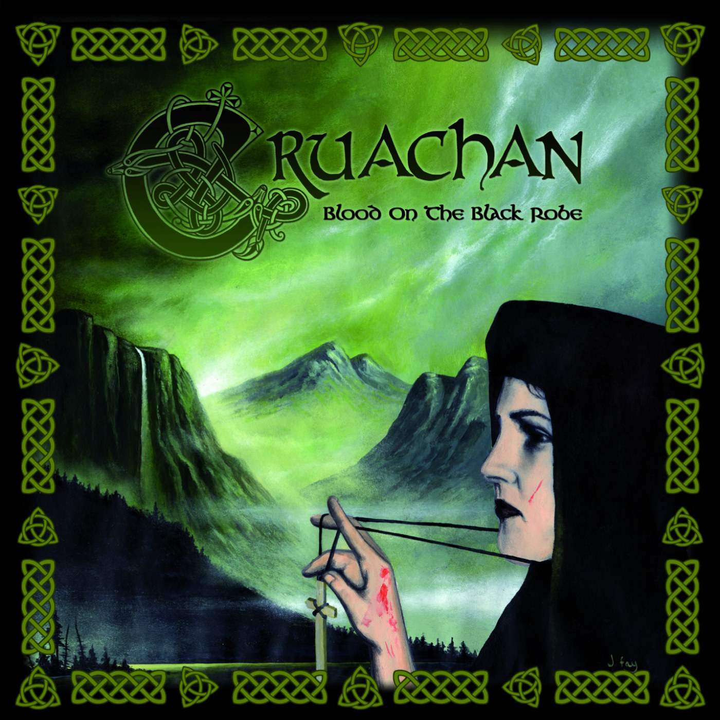 Review for Cruachan - Blood on the Black Robe