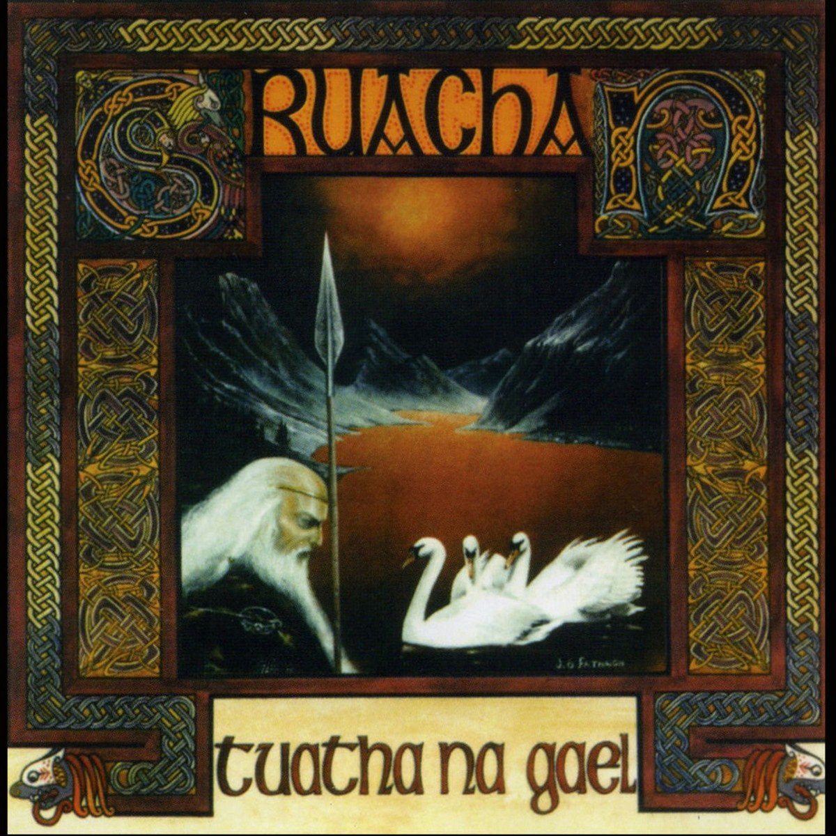 Review for Cruachan - Tuatha Na Gael