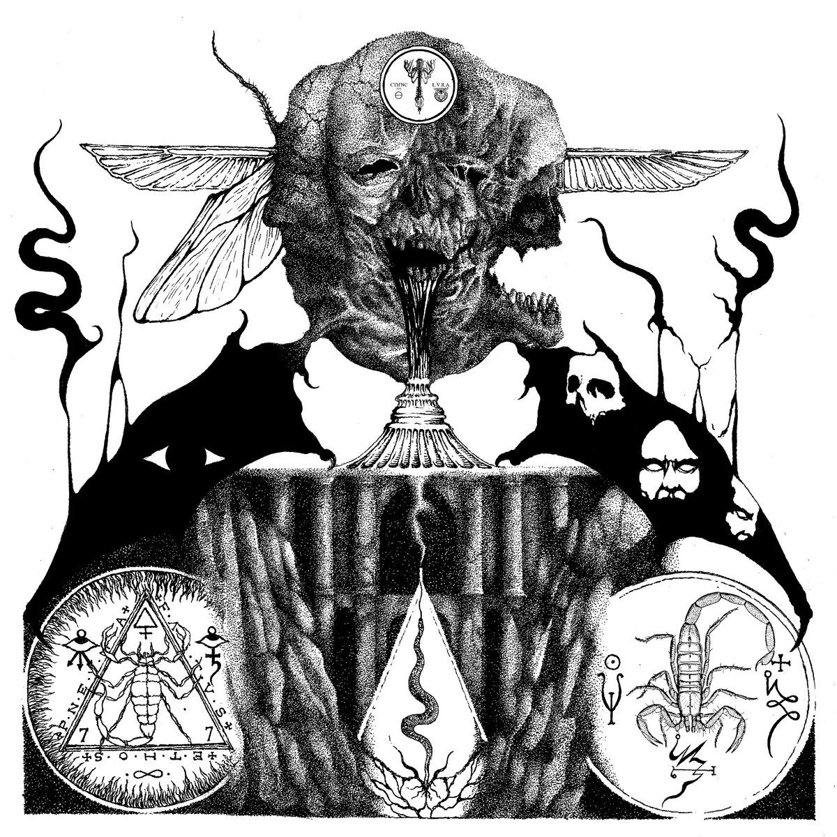 Review for Cthonica - Typhomanteia: Sacred Triarchy of Spiritual Putrefaction