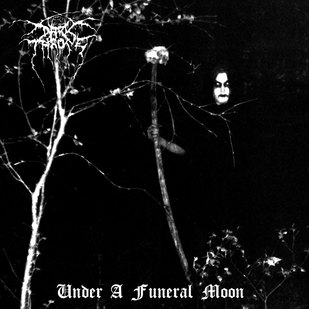 """Darkthrone released their third full-length album, titled """"Under a Funeral Moon"""", their last to feature Zephyrous on guitar before he left the band."""