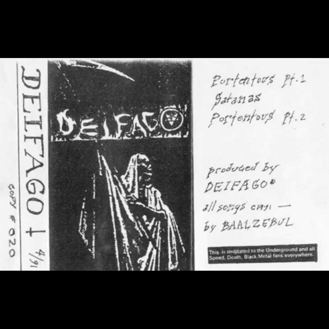 Review for Deiphago - Demo 1991