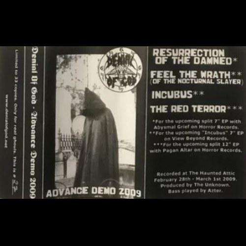 Denial of God - Advance Demo 2009