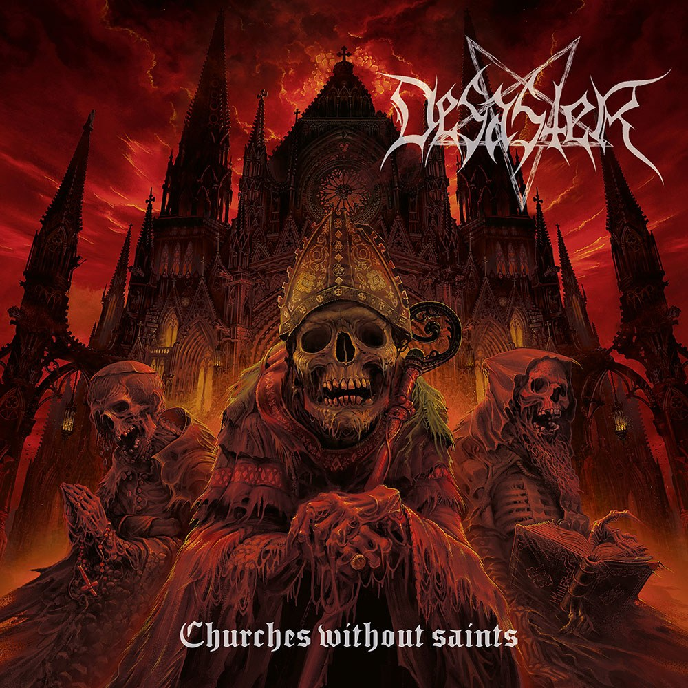 Reviews for Desaster - Churches Without Saints