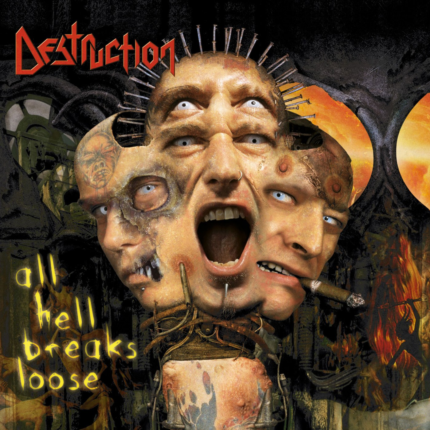 Review for Destruction - All Hell Breaks Loose