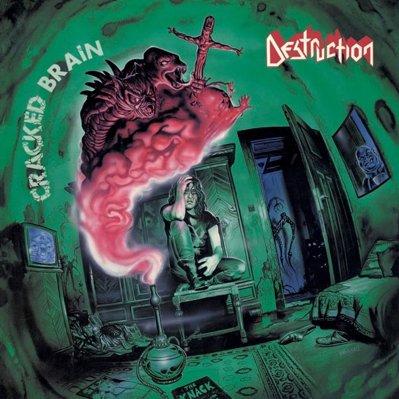 Review for Destruction - Cracked Brain