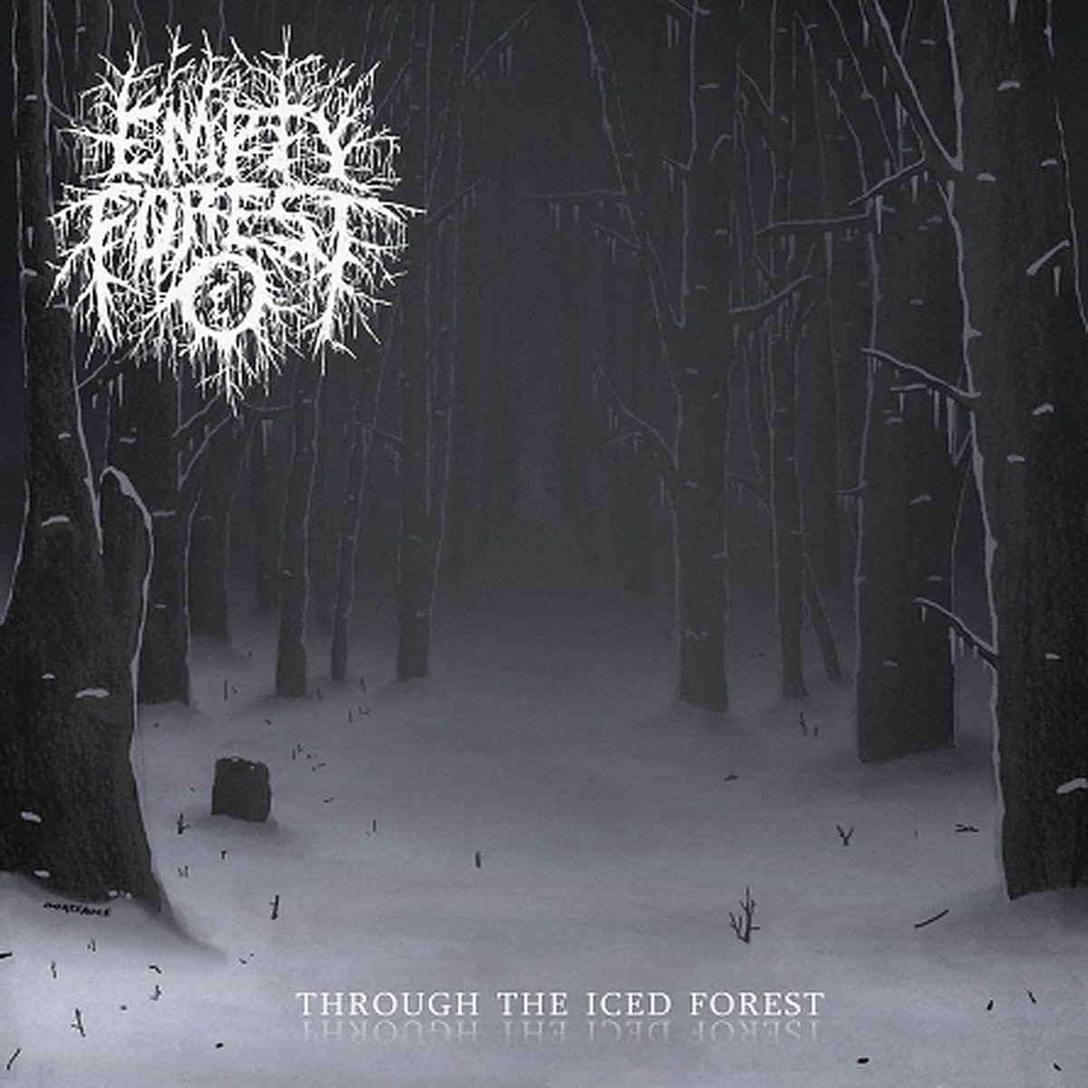 Empty Forest - Through the Iced Forest