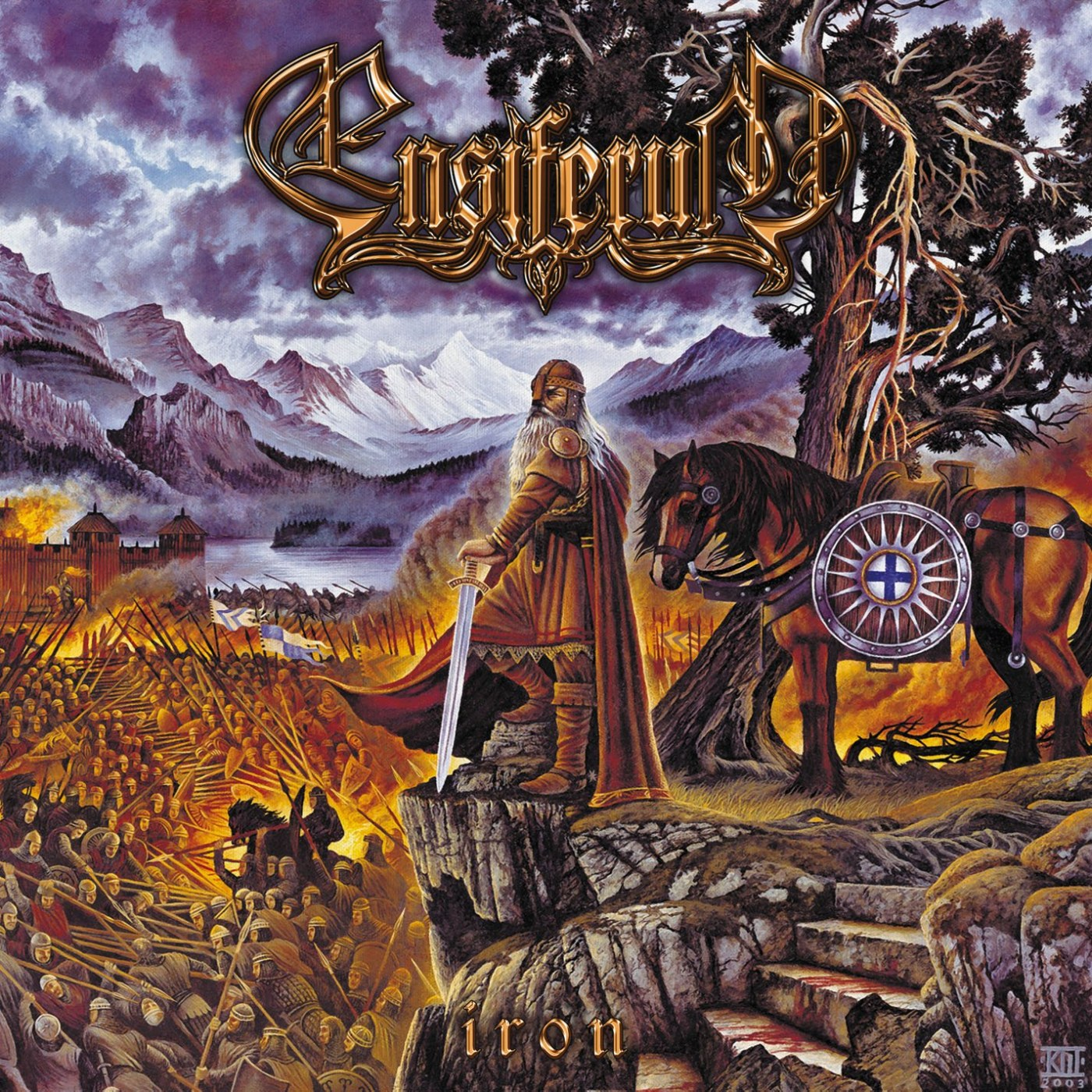 Review for Ensiferum - Iron